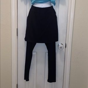 LEGACY SKIRT W/ATTACHED LEGGINGS